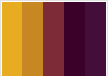 All that glitters is gold rhonda patton weddings events - Jewel tones color wheel ...