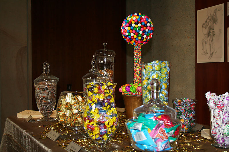 CANDY BAR Sweet Savors The candy bar was designed by Delightful Day Event