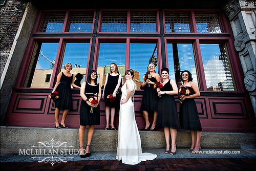 TINA BRIDAL PARTY