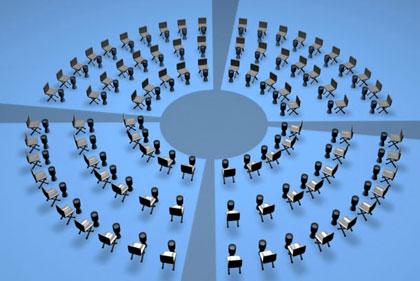 Circle seating