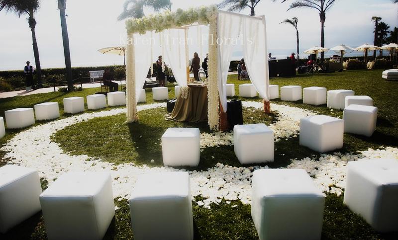 Wedding Ceremony Circular Seating Rhonda Patton Weddings Events