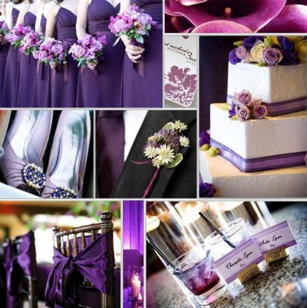 Purple wedding inspiraiton